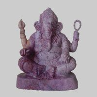 Classical Ganesh Sitting at Meditation