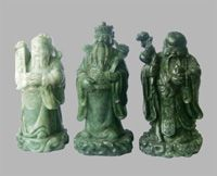 Awesomely Auspicious HOK-LOK SEW (3 Chinese Gods) of Good Fortune